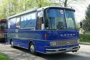 Europatreffen historischer Omnibusse: Setra S 80 Wohnmobil, Bj.
