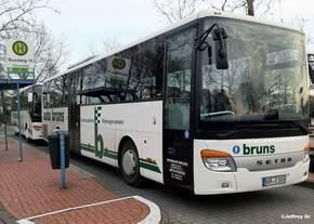 Setra S 415 UL (BOR-D 1005) von der Firma Auto Bruns aus Reken.