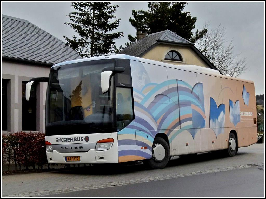 aa 3377 ein als bibliotheksbus umgebauter setra s 415 ul. Black Bedroom Furniture Sets. Home Design Ideas