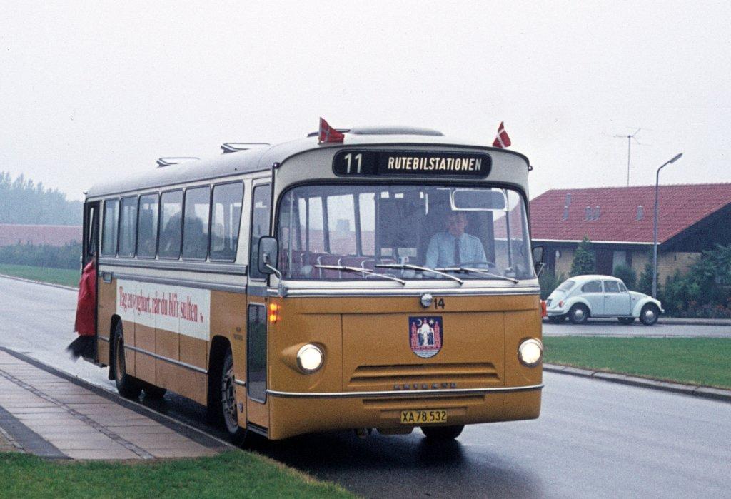 Aarhus Fotos Bus Bildde