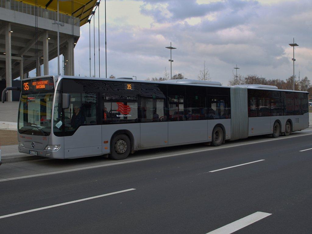 aachen tivoli bus