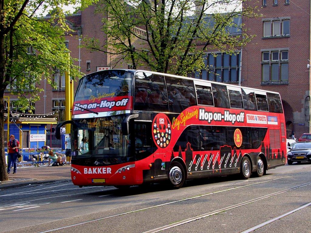 ayats bus von bakker absolviert eine city sightseeing tour in amsterdam 110904 bus. Black Bedroom Furniture Sets. Home Design Ideas