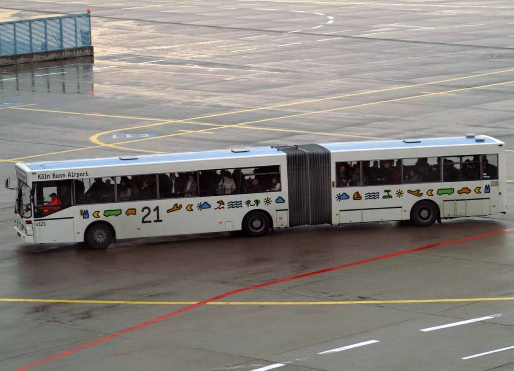 bus 21 4121 eddk cgn k ln bonn germany bus. Black Bedroom Furniture Sets. Home Design Ideas