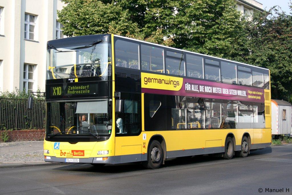 Germanwings Bus Paint