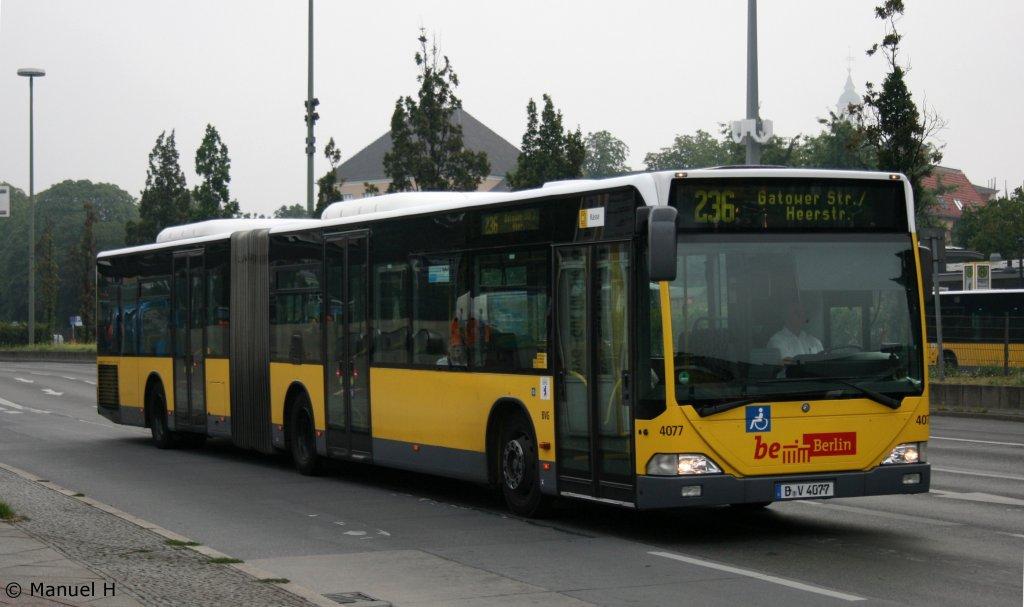 bvg 4077 b v 4077 berlin spandau bahnhof 9 bus. Black Bedroom Furniture Sets. Home Design Ideas