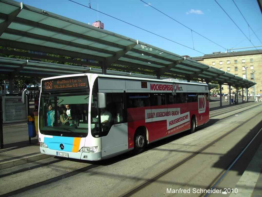 Citaro bus mit neuer wochenspiegel werbung aufgenommen wurde das foto am in - Wochenspiegel bilder ...