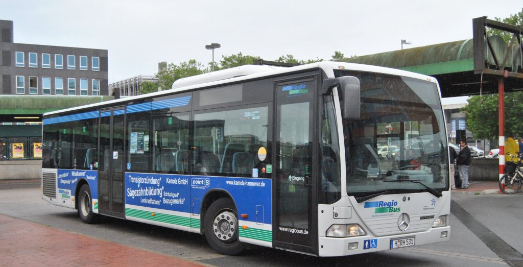 Citaro I, am ZOB in Hannover, am 29.August 10.