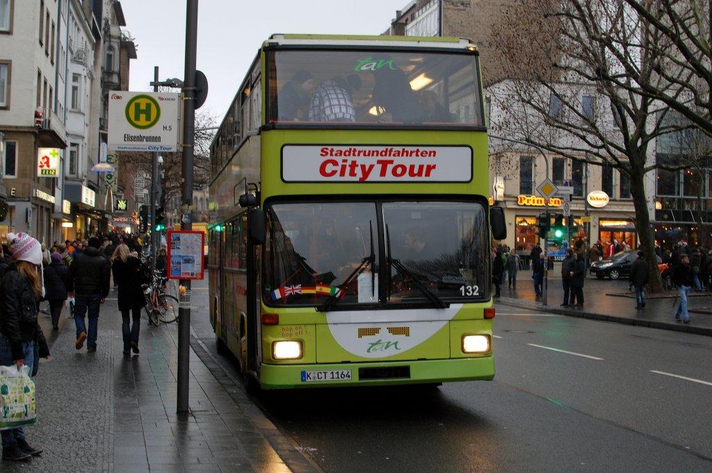 citytour k ln in aachen mit man doppelstockbus am 2010 in aachen bus. Black Bedroom Furniture Sets. Home Design Ideas