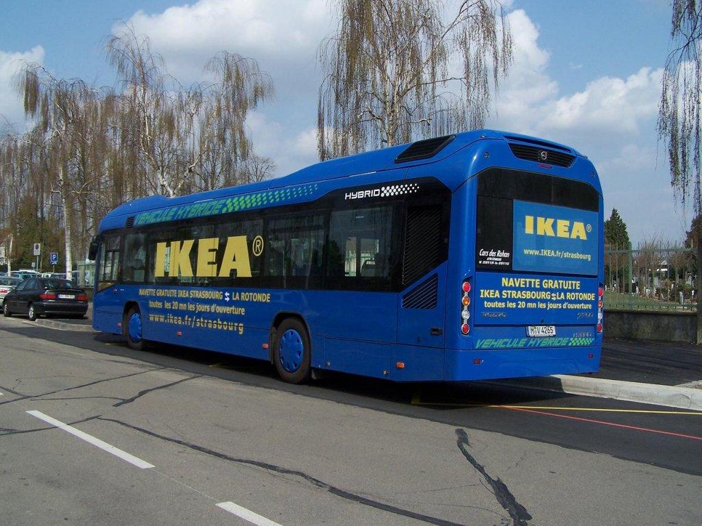 der volvo geh rt nicht an der cts sondern an ikea bus. Black Bedroom Furniture Sets. Home Design Ideas
