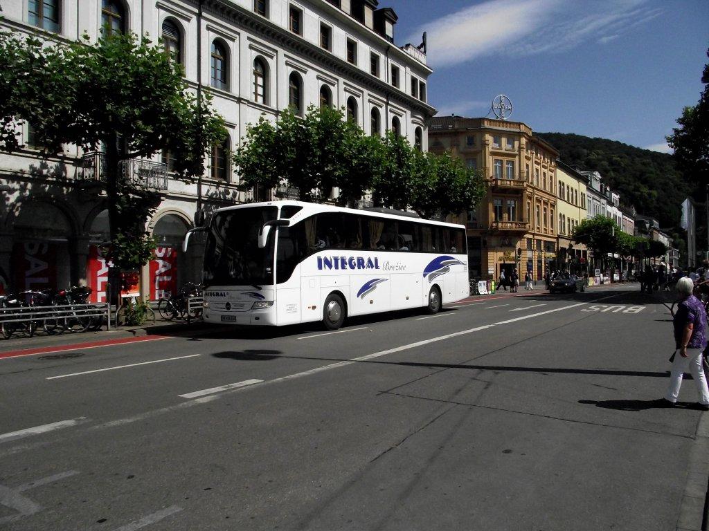 ein mercedes benz tourismo in heidelberg am bus. Black Bedroom Furniture Sets. Home Design Ideas