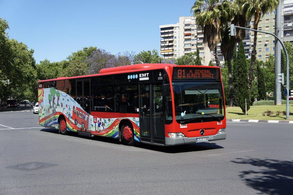Emt valencia fotos bus for Mercedes benz of valencia