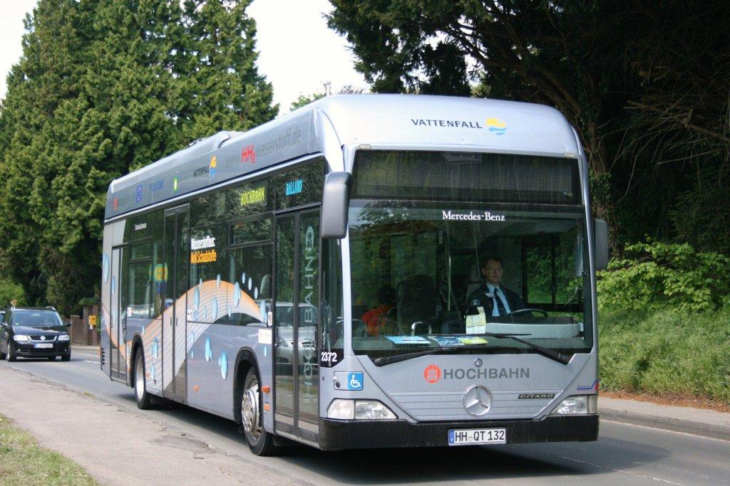 hochbahn 2372 hh qt 132 am baldeneysee in essen der bus fuhr am b rgertag der messe hydrogen. Black Bedroom Furniture Sets. Home Design Ideas