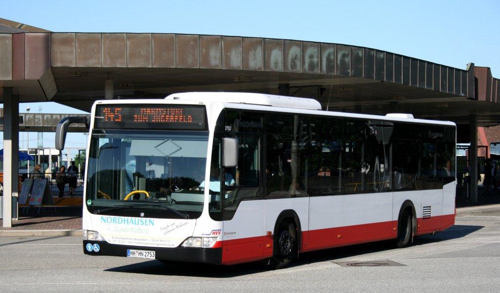 Hochbahn 2753 hh hn 2753 macht werbung f r nordhausen for Raumgestaltung hamburg