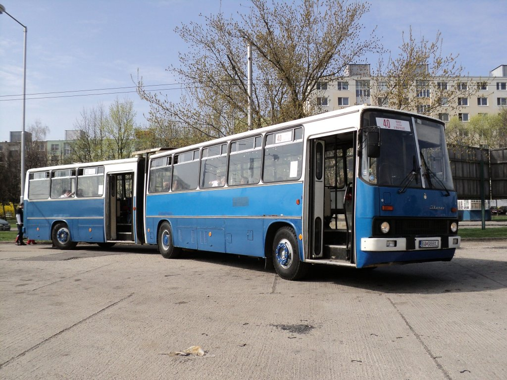 ikarus 280 40 jahre expresbus in bratislava bus. Black Bedroom Furniture Sets. Home Design Ideas