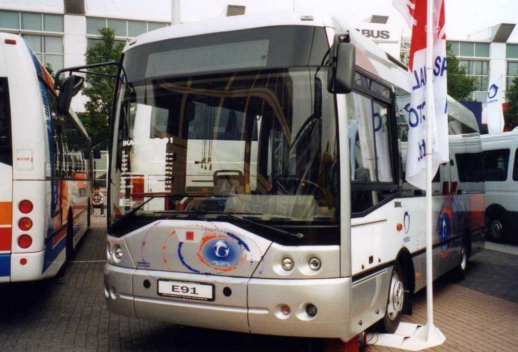 ikarus e91 aufgenommen auf der iaa 2000 in frankfurt