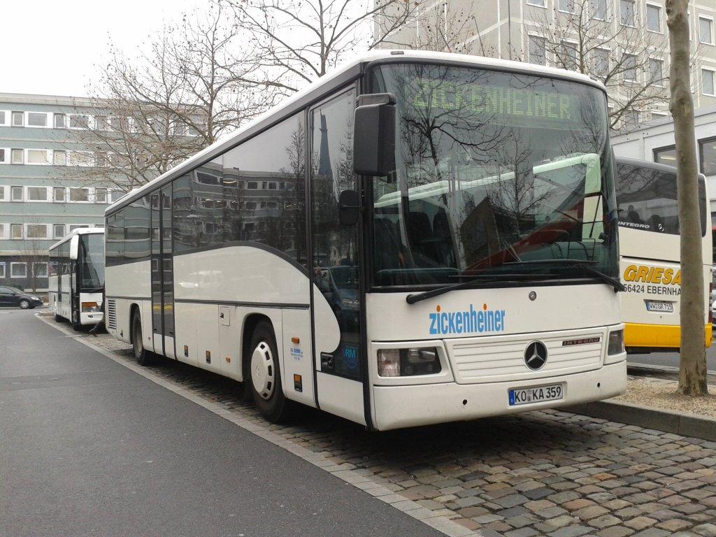 ko ka 359 ein mercedes o550 integro vom busunternehmen zickenheiner aus koblenz das fahrzeug. Black Bedroom Furniture Sets. Home Design Ideas
