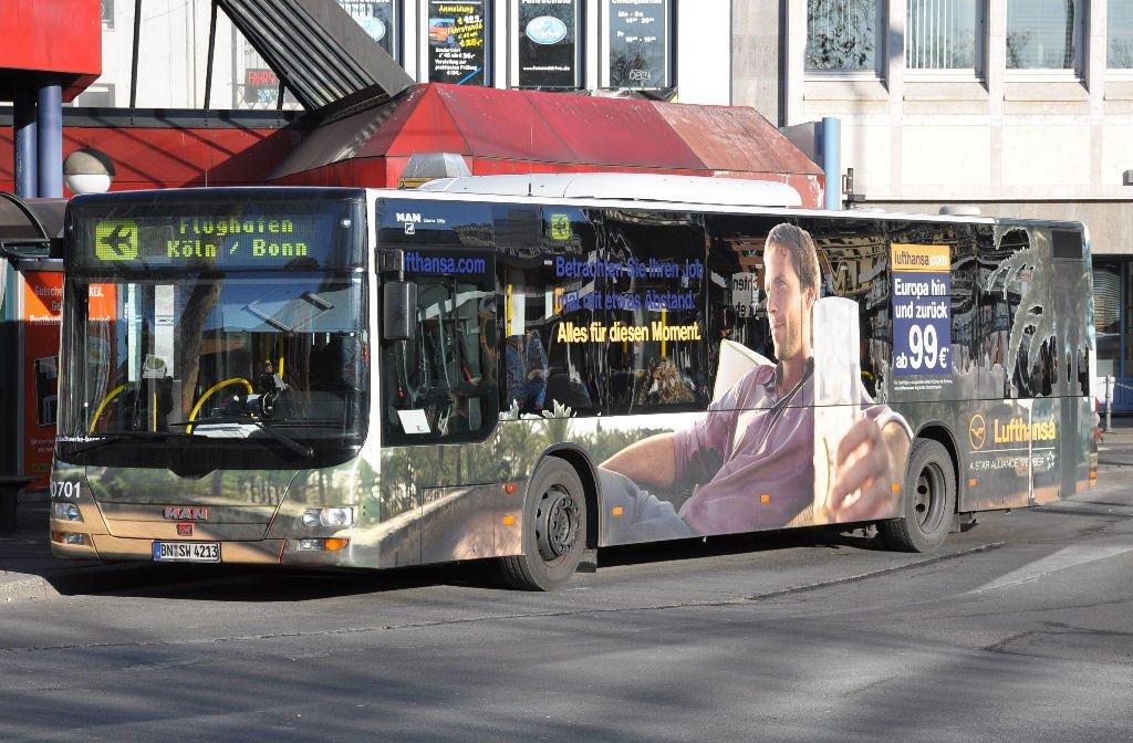 man flughafen zubringer bus bonn flughafen k ln bonn am hbf bonn mit einer. Black Bedroom Furniture Sets. Home Design Ideas