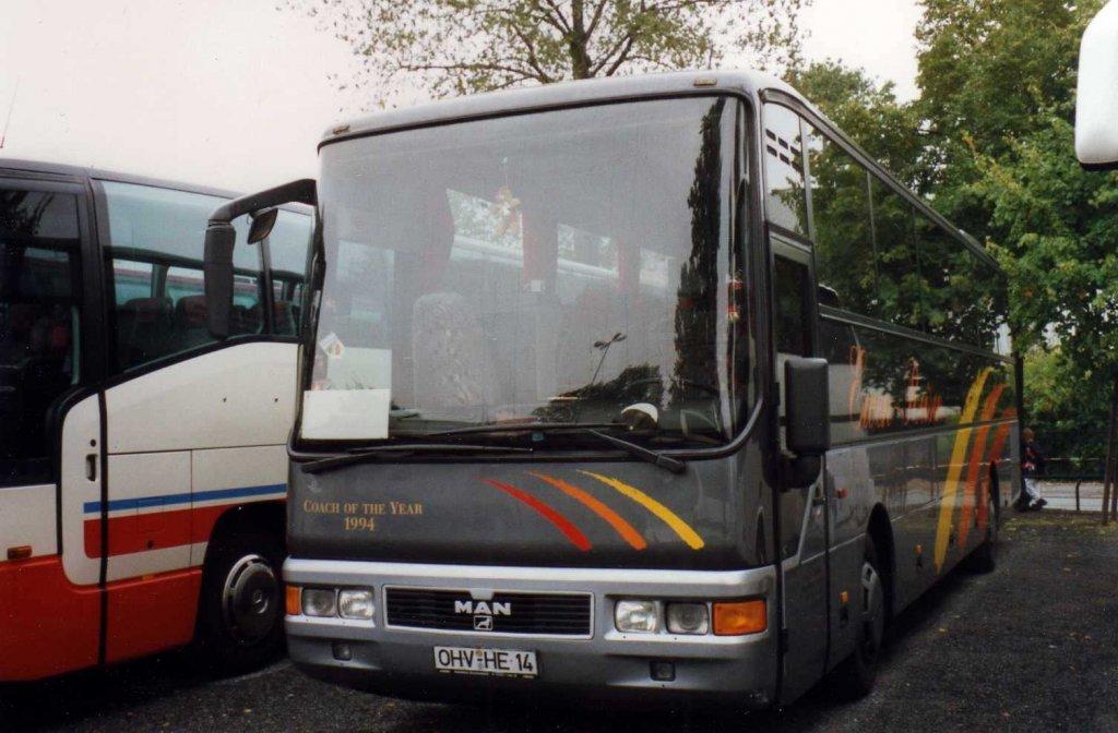 man frh422 lion star aufgenommen im september 1996 auf dem parkplatz der messe hannover bus. Black Bedroom Furniture Sets. Home Design Ideas