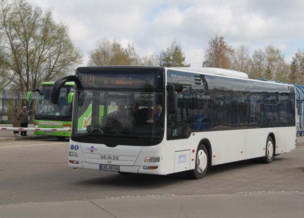 Buslinie 121 Rostock