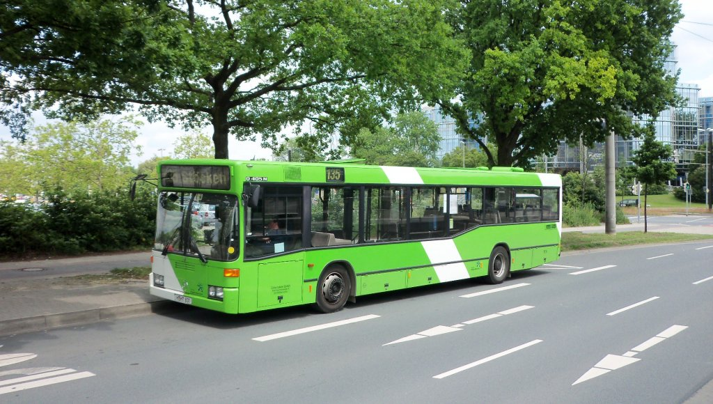 mercedes 0 405 der stra im hannover lahe am bus. Black Bedroom Furniture Sets. Home Design Ideas