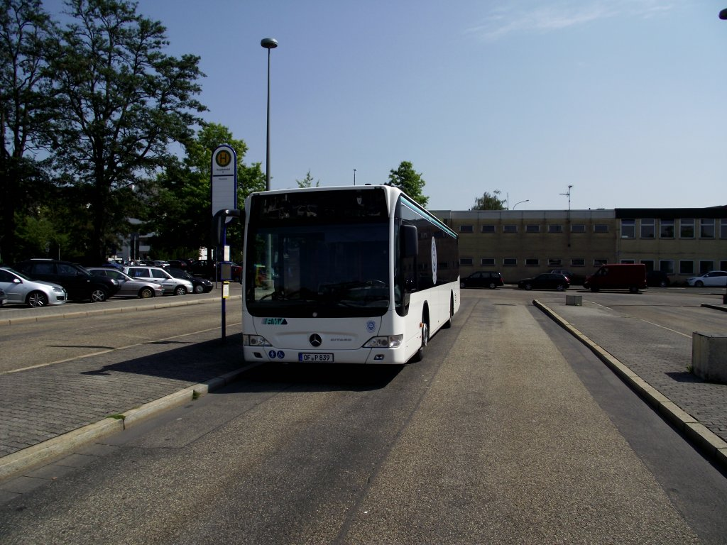 mercedes benz citaro in hanau hbf am bus. Black Bedroom Furniture Sets. Home Design Ideas