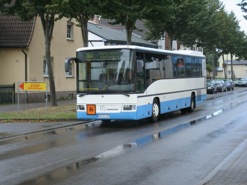mercedes benz integro am 22 august 2012 in stralsund in der kleinen parower stra e bus. Black Bedroom Furniture Sets. Home Design Ideas