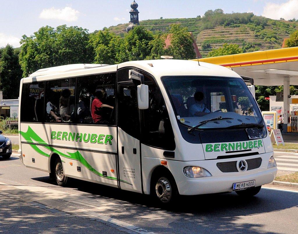 Mercedes benz midibus von bernhuber sterreich am 16 7 for Mercedes benz austria