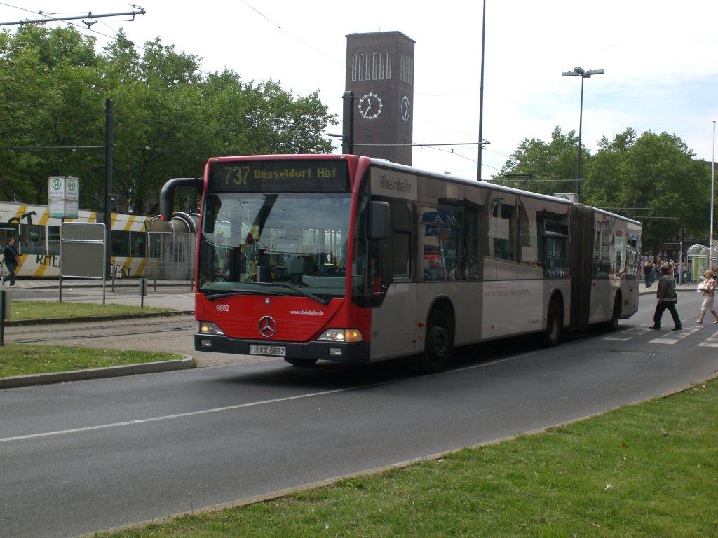 mercedes benz o 530 i citaro auf der linie 737 am hauptbahnhof d sseldorf 2 bus. Black Bedroom Furniture Sets. Home Design Ideas