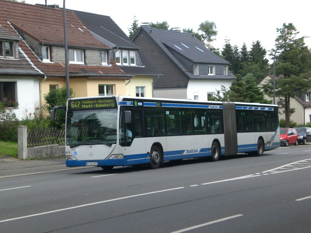 mercedes benz o 530 i citaro auf der linie 647 nach s bahnhof velbert neviges an der. Black Bedroom Furniture Sets. Home Design Ideas