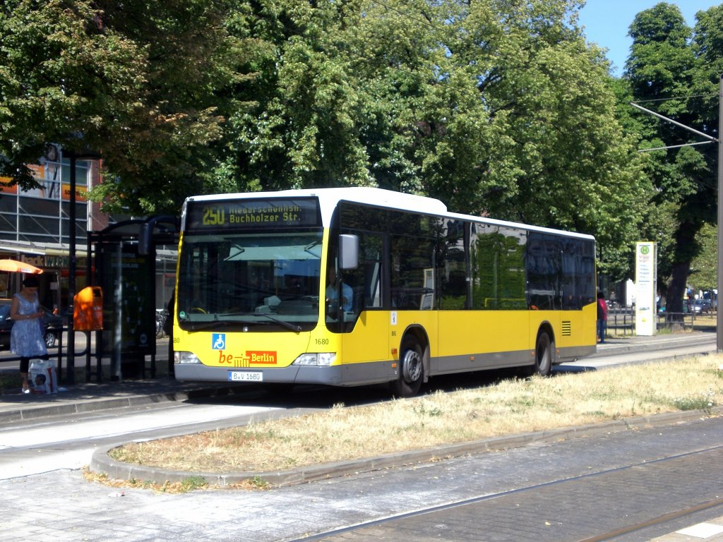 Mercedes benz o 530 ii citaro facelift auf der linie 250 for Pay mercedes benz online