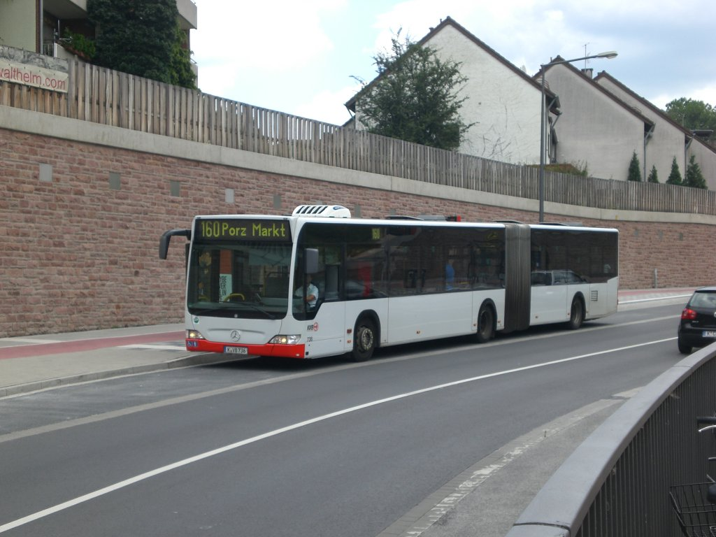 mercedes benz o 530 ii citaro facelift auf der linie 160 nach k ln porz markt am s bahnhof. Black Bedroom Furniture Sets. Home Design Ideas
