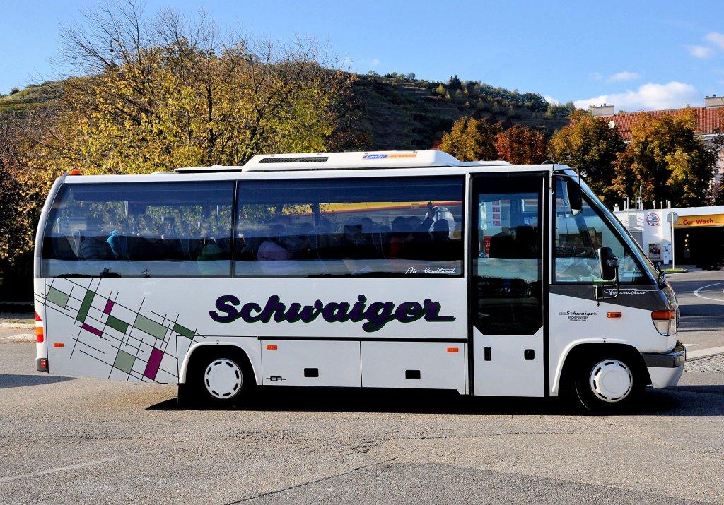 Mercedes benz o818 teamstar kleinbus von schwaiger for Mercedes benz deutschland