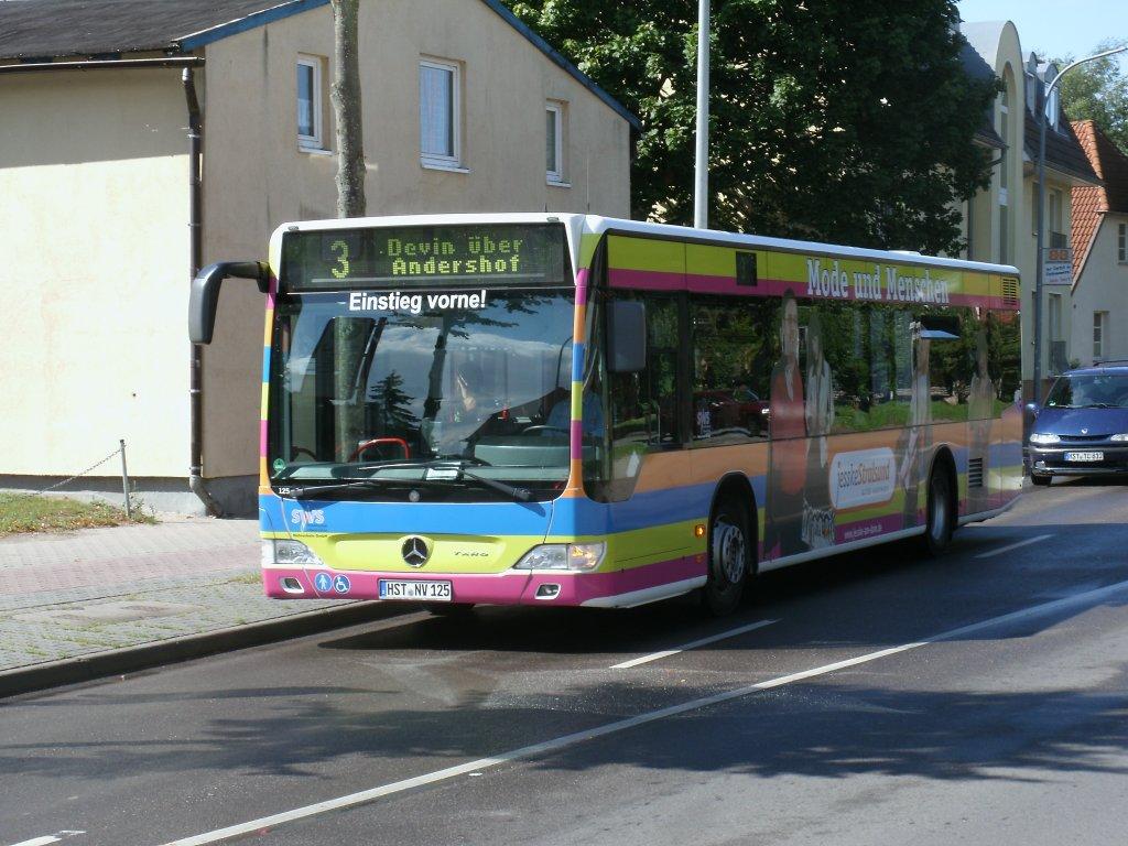 mercedes benz taro am 22 august 2012 in der kleinen parower stra e in stralsund bus. Black Bedroom Furniture Sets. Home Design Ideas