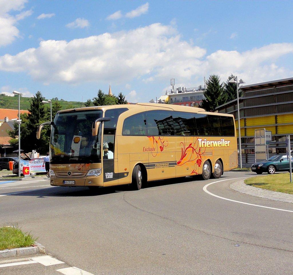 Mercedes benz travego von trierweiler deutschland am 16 7 for Mercedes benz deutschland