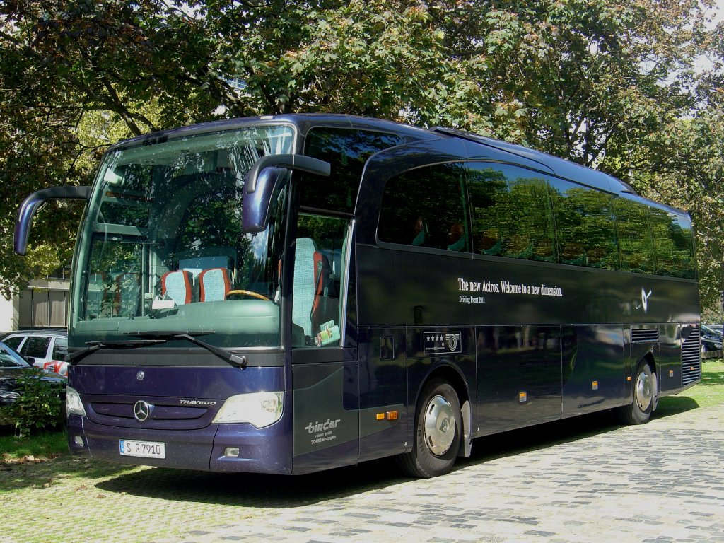 mercedes travego binder lackierung the new actros mannheim bus. Black Bedroom Furniture Sets. Home Design Ideas