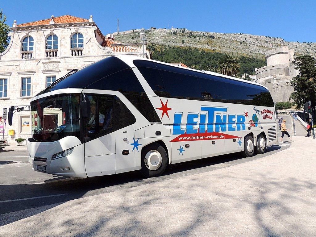 NEOPLAN,STARLINER von Leitner-Reisen holt in Dubrovnik