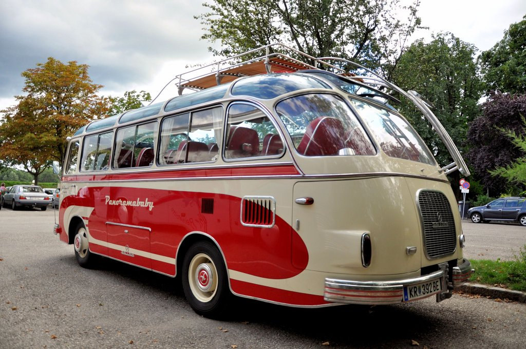 oldtimer k ssbohrer setra s6 baujahr 1963 im august 2012 in krems an der donau unterwegs bus. Black Bedroom Furniture Sets. Home Design Ideas