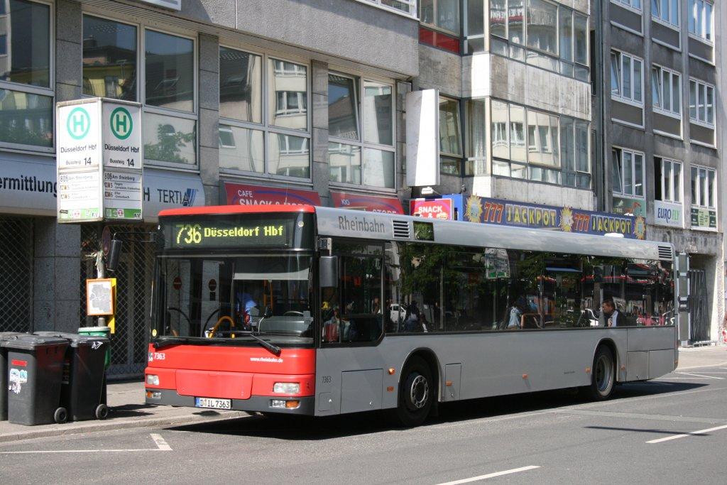 rheinbahn 6863 d gj 6863 d sseldorf hbf 2 bus. Black Bedroom Furniture Sets. Home Design Ideas