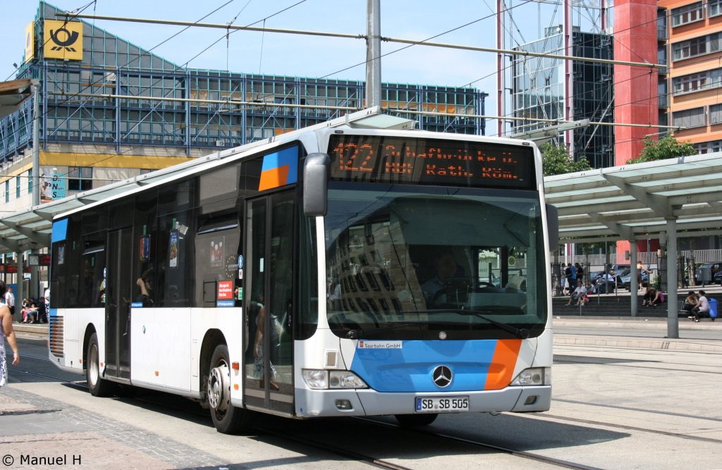saar bus sb sl 505 saarbr cken hbf 2 bus. Black Bedroom Furniture Sets. Home Design Ideas