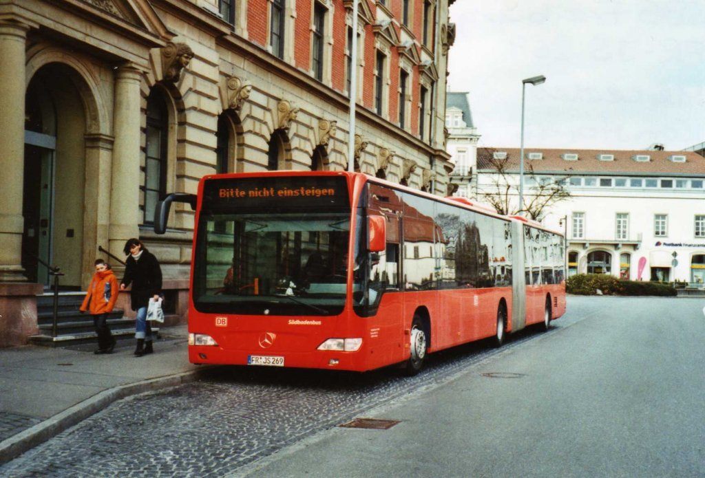 sbg freiburg fr js 269 mercedes citaro am 10 m rz 2010 konstanz bahnhof bus. Black Bedroom Furniture Sets. Home Design Ideas
