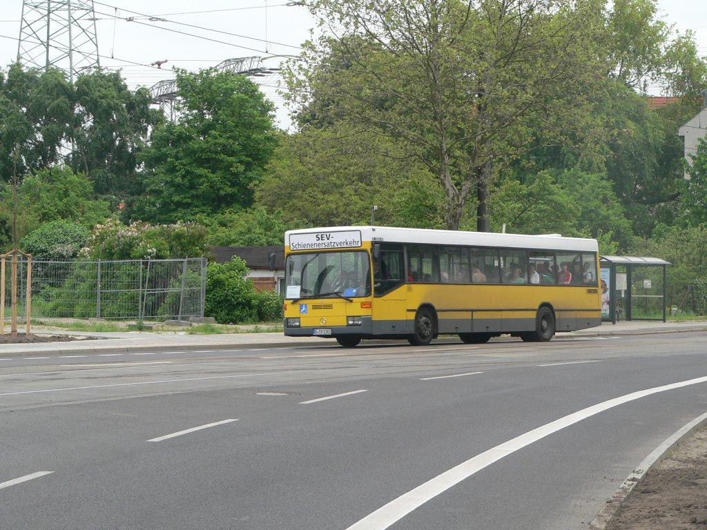 schienenersatzverkehr bus im blockdammweg berlin fahrzeug b cm 2301 der magasch gmbh co kg. Black Bedroom Furniture Sets. Home Design Ideas