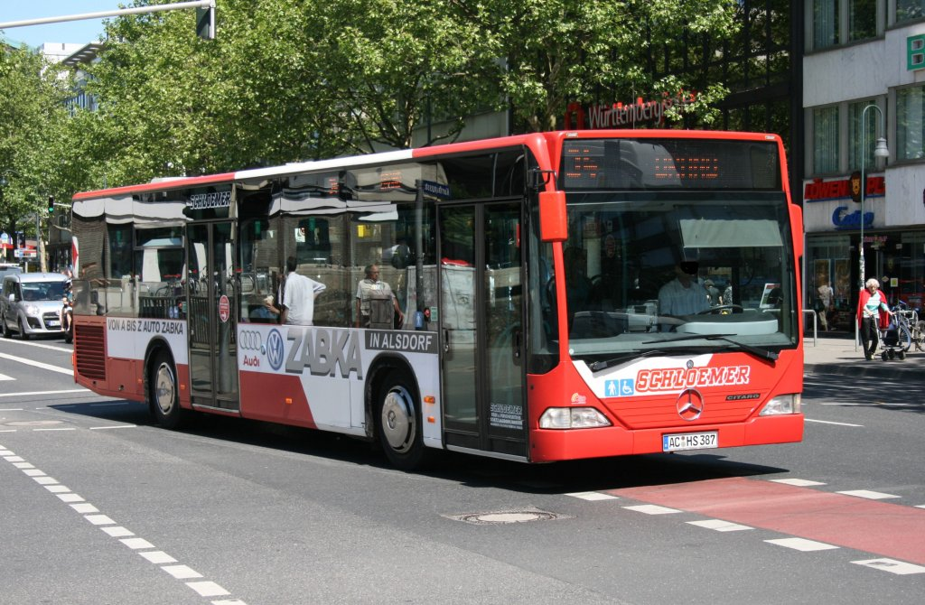 aseag 268 ac l 268 aachen bushof 4 bus. Black Bedroom Furniture Sets. Home Design Ideas