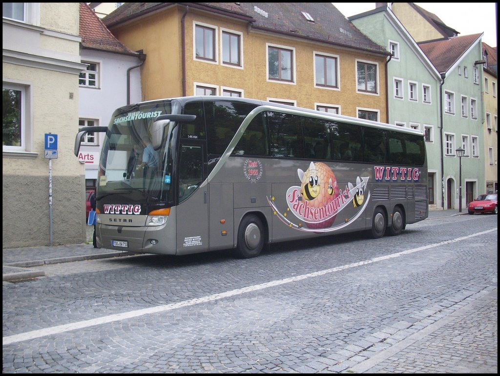 setra 416 hdh von wittig aus deutschland in regensburg am bus. Black Bedroom Furniture Sets. Home Design Ideas