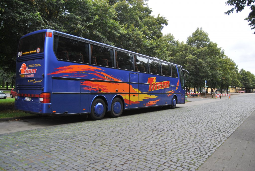 setra bus in hannover herrenh user g rten am bus. Black Bedroom Furniture Sets. Home Design Ideas