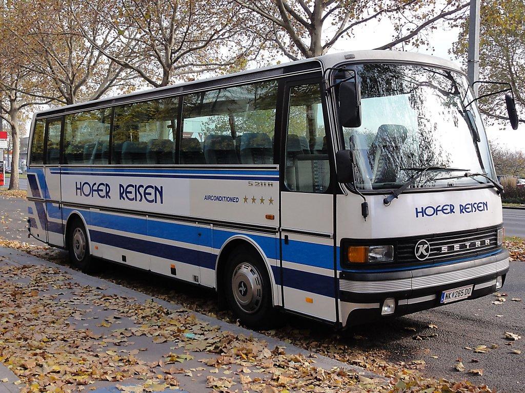 Setra S 211 H Von Hofer Reisenösterreich Parkt Am 1112010 In Wien