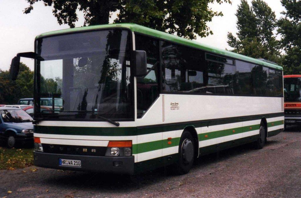 setra s315 ul aufgenommen im september 1996 auf dem parkplatz der messe hannover bus. Black Bedroom Furniture Sets. Home Design Ideas
