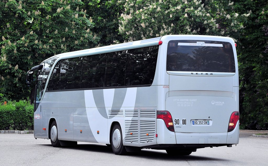SETRA S415 HD von VEOLIA Transport.Krems,15.5.2012.