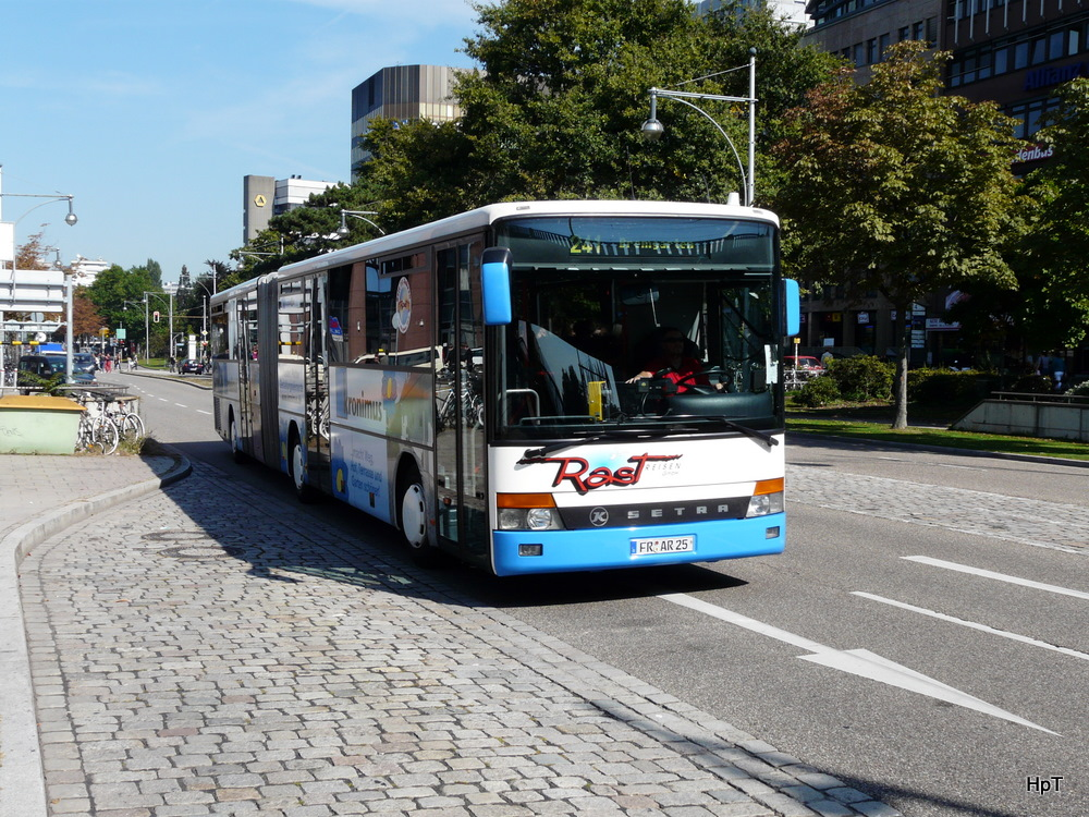setra unterwegs in freiburg i b am bus. Black Bedroom Furniture Sets. Home Design Ideas