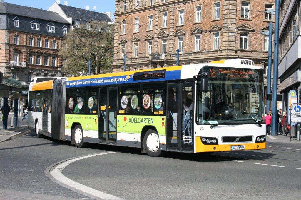 orn mz rn 259 macht werbung f r bauhaus 10 bus. Black Bedroom Furniture Sets. Home Design Ideas
