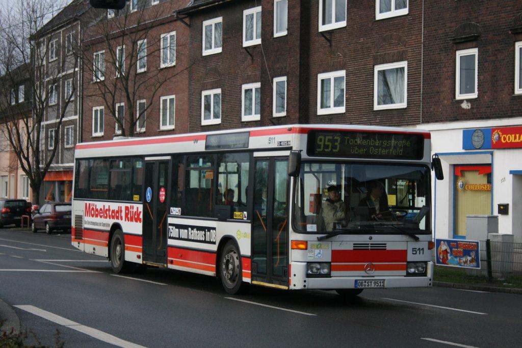 STO 511 (OB ST 9511) mit Werbung für Möbel Rück ...